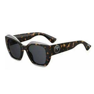 MOSCHINO Tortoise Sunglasses Size 52mm 145mm 22mm